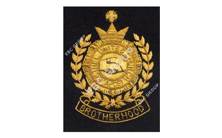 United Church Hand Embroidered Badge
