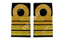 Navy Shoulder Slip Ons