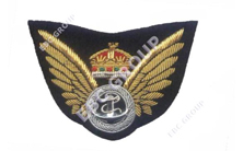 Wings Cap Badge