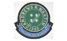 Club Hand Embroidered Badge