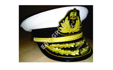 Navy Officer\'s Peak Cap
