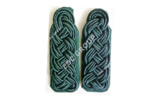 Green Silk Cord Shoulder Boards