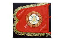 Hand Embroidered Flag