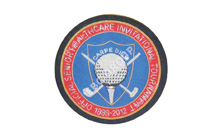 Golf Club Hand Embroidered Badge