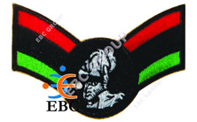 Rasta RBG Wing Garvey Patch