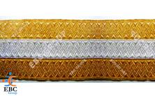 Metallic Gold Braid Trim