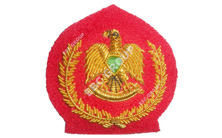 Libyan Army Blazer Badge