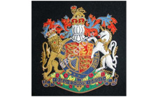 Britsh Regemental Blazer Badge