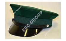 Dark Green Peak Cap