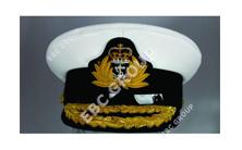 Royal Navy Captain Peak Cap