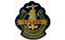 Gold Bullion Wire Blazer Badges