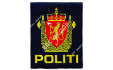 Police Woven Badges & Patches