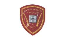 Rifle Shooting Club Hand Embroidered Badge
