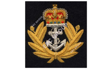 Navel Blazer Badge