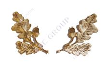 Gold German Leaves