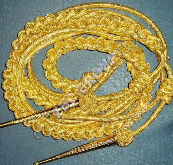 Gold Wire Aiguillettes