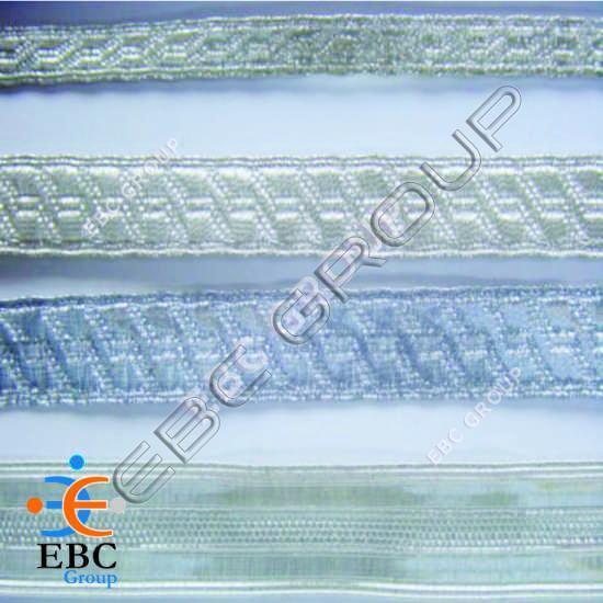 Metallic Silver Braid