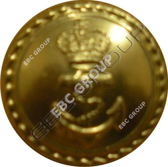 Navel Dress Metal Button