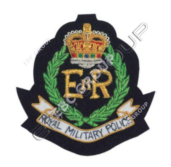 Hand Embroidered Insignia